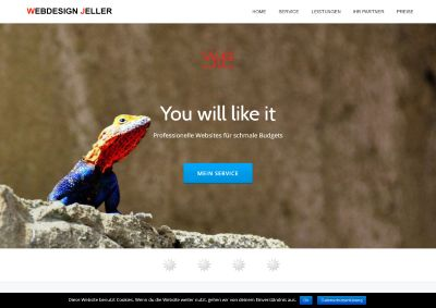 Website Webdesign Jeller